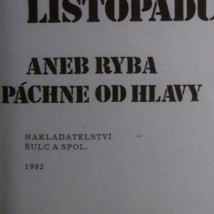 antikvární kniha Mafie po listopadu aneb Ryba páchne od hlavy, 1992