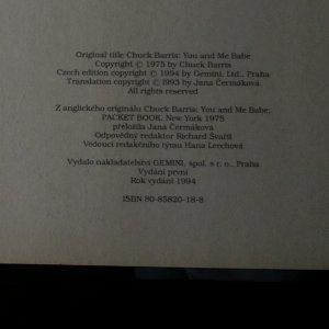 antikvární kniha Jen ty a já, 1994
