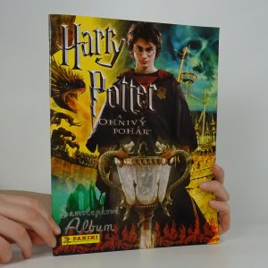 náhled knihy - Harry Potter a ohnivý pohár. Samolepkové album.