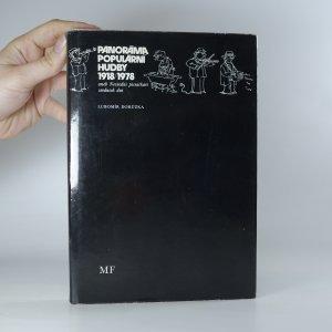 náhled knihy - Panoráma populární hudby 1918-1978