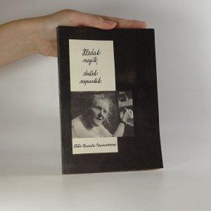 náhled knihy - Hledat - najít, držet - nepustit