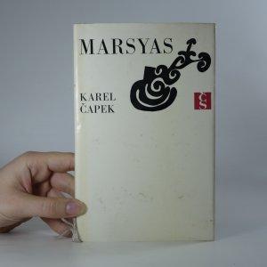 náhled knihy - Marsyas, čili, Na okraj literatury