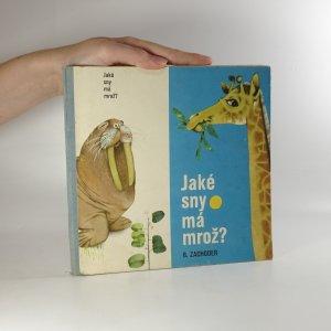náhled knihy - Jaké sny má mrož?