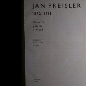antikvární kniha Jan Preisler 1872-1918, 1964