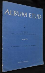 náhled knihy - Album etud V.