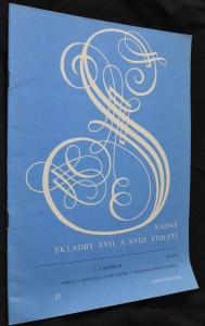 náhled knihy - Snadné skladby XVII. a XVIII. století