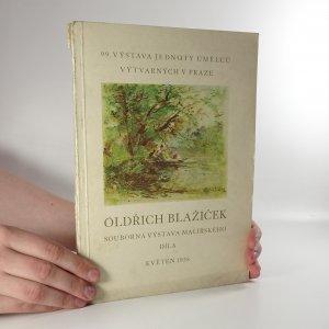 náhled knihy - Oldřich Blažíček. Souborná výstava malířského díla