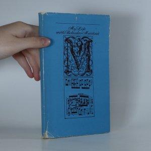 náhled knihy - My life with Bohuslav Martinů