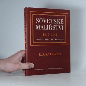 náhled knihy - Sovětské malířství 1917-1941