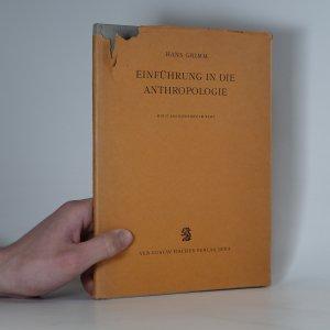 náhled knihy - Einführung in die Anthropologie