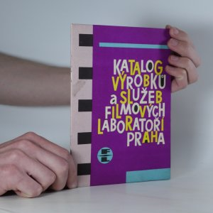 náhled knihy - Katalog výrobků a služeb Filmových laboratoří Praha