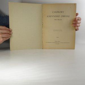 antikvární kniha Choroby krevního oběhu pro praxi, 1949