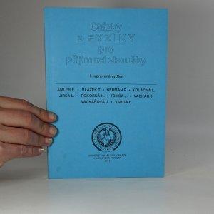 náhled knihy - Otázky z fyziky pro přijímací zkoušky