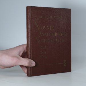 náhled knihy - Srovnávací slovník anatomických nomenklatur