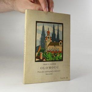 náhled knihy - Olomouc. průvodce místopisný a kulturně historický.