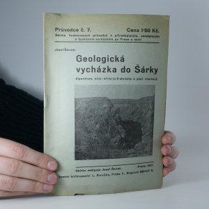 náhled knihy - Geologická vycházka do Šárky