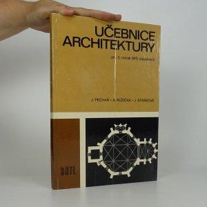 náhled knihy - Učebnice architektury pro 3. ročník SPŠ stavebních