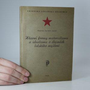 náhled knihy - Hlavní formy materialismu a idealismu v dějinách lidského myšlení
