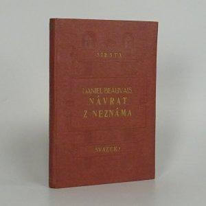 náhled knihy - Návrat z neznáma