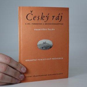 náhled knihy - Český ráj. II. díl - Turnovsko a Mnichovohradištsko
