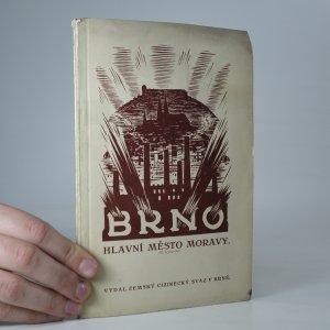 náhled knihy - Brno, hlavní město Moravy