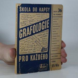 náhled knihy - Grafologie pro každého