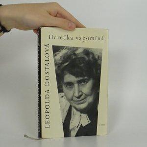 náhled knihy - Herečka vzpomíná