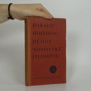 náhled knihy - Dějiny novověké filosofie
