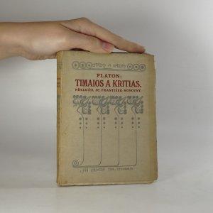 náhled knihy - Timaios a Kritias
