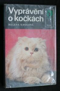 náhled knihy - Vyprávění o kočkách