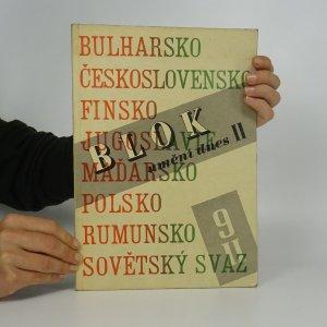 náhled knihy - Blok. Časopis pro umění. Ročník II., číslo 9.
