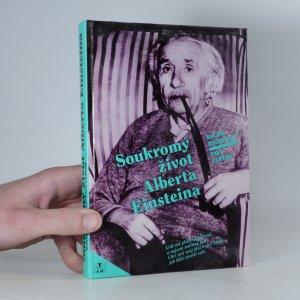 náhled knihy - Soukromý život Alberta Einsteina