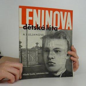 náhled knihy - Leninova dětská a školní léta