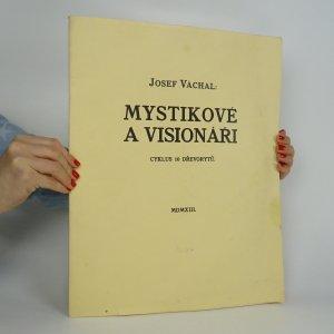 náhled knihy - Mystikové a visionáři. Cyklus 10 dřevorytů