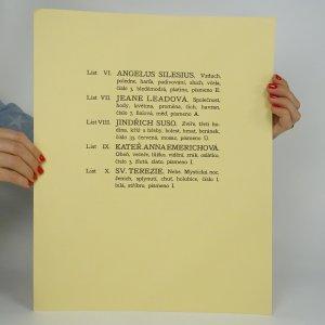 antikvární kniha Mystikové a visionáři. Cyklus 10 dřevorytů, 1995