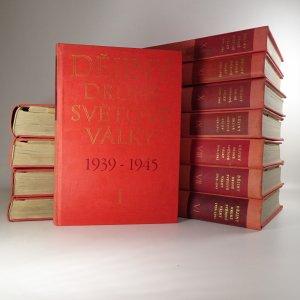 náhled knihy - Dějiny druhé světové války 1939-1945. Díl I - XII. (12 svazků) Nekompletní (viz poznámka)