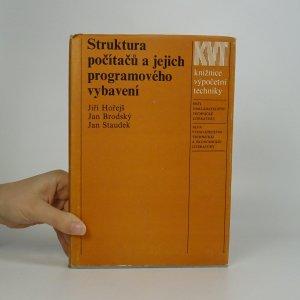 náhled knihy - Struktura počítačů a jejich programového vybavení