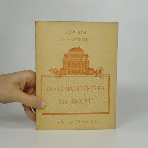 náhled knihy - Česká architektura 1800-1920