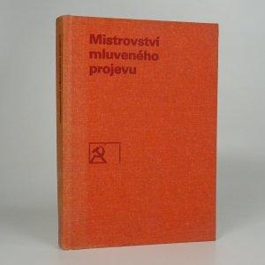 náhled knihy - Mistrovství mluveného projevu