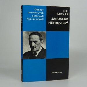 náhled knihy - Jaroslav Heyrovský