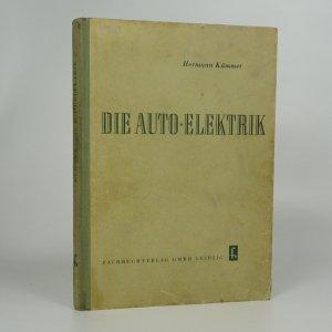 náhled knihy - Die Auto-Elektrik