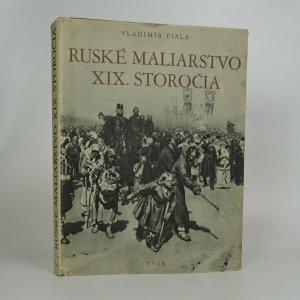 náhled knihy - Ruské maliarstvo XIX. storočia