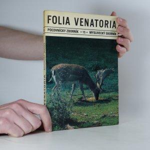náhled knihy - Folia venatoria č. 15.