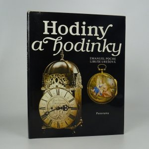 náhled knihy - Hodiny a hodinky ze sbírky Uměleckoprůmyslového muzea v Praze