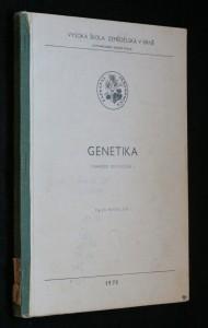 náhled knihy - Genetika : Návody do cvičení : Určeno pro posl. AF [agronomická fak.]