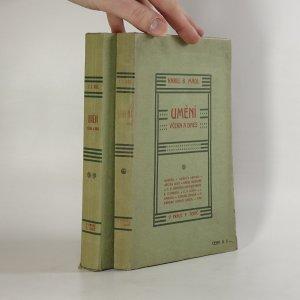 náhled knihy - Umění včera a dnes. 1. a 2. díl.