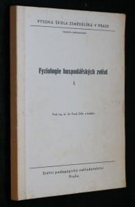 náhled knihy - Fyziologie hospodářských zvířat. 1. [díl]