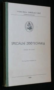 náhled knihy - Speciální zootechnika : Určeno pro posl. provozně-ekon. fak.