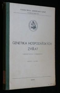 náhled knihy - Genetika hospodářských zvířat : vybrané kapitoly k přednáškám