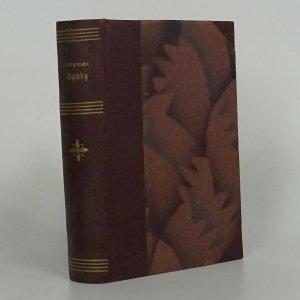 náhled knihy - Zápisky